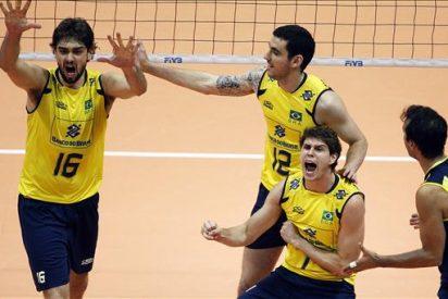 1-3. Brasil logra noveno título de Liga Mundial con triunfo sobre Rusia