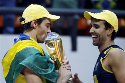 Brasil es el rey absoluto de la Liga Mundial de voleibol