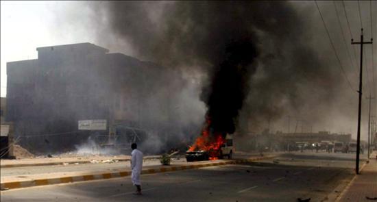 Una atentado suicida contra la cadena de televisión Al Arabiya en Bagdad causa seis muertos