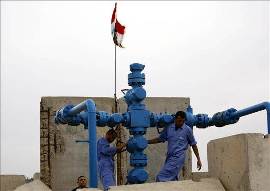 El crudo de la OPEP sube un 0,6 por ciento hasta los 74,44 dólares por barril