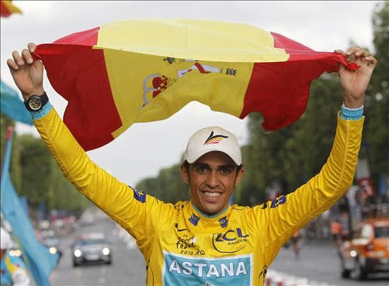 """Contador afima """"es un honor poner mi nombre junto a leyendas del ciclismo"""""""