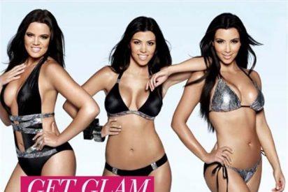 Las hermanas Kardashian lanzan una línea de bikinis
