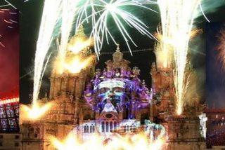 Compostela celebra la noche mágica de su Año Santo