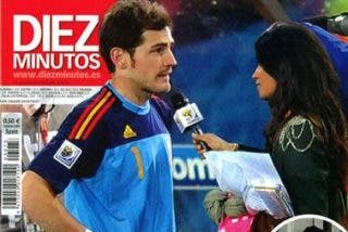 Sara Carbonero e Iker Casillas, noche de amor en el Mundial