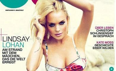 Las dos caras de Lindsay Lohan