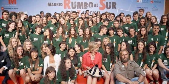 """Esperanza Aguirre presentó V edición de """"Madrid Rumbo al Sur"""""""