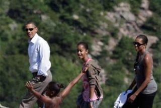 Los Obama se van de vacaciones