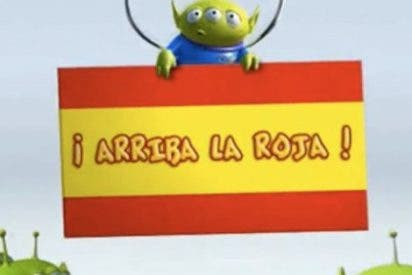 """""""Disney"""" felicita a La Roja"""