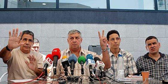 Los ex presos cubanos se sienten 'engañados' por el Gobierno español