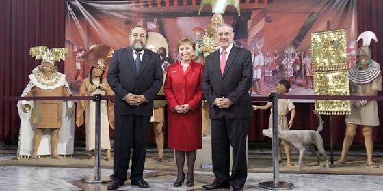 """El Señor de Sipán """"toma"""" el Palacio de Justicia de Lima"""