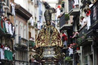 Pamplona honra a su patrón San Fermín