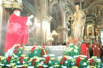 Lejos, detrás del Atlántico y sobre el Pacìfico, celebraciòn de Santiago Apòstol en Chile