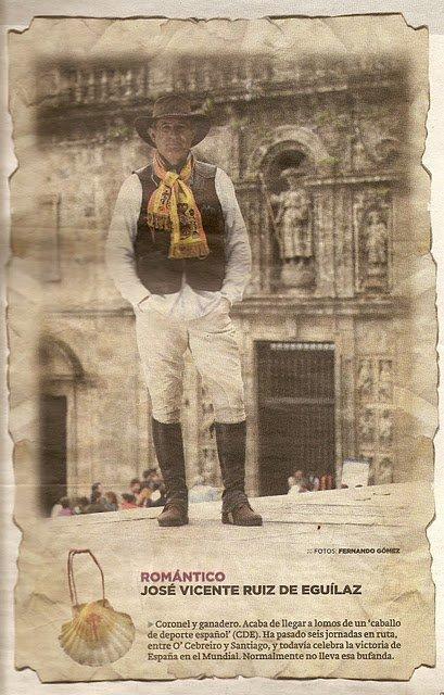 'Poetas Muertos' en el Camino de Santiago