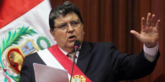 """Alan García: """"El Perú no entregará ni un centavo a los terroristas"""""""