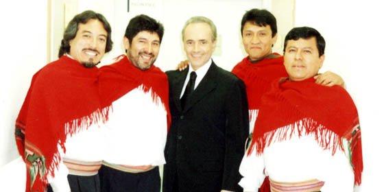 El Grupo Alturas, José Carreras y la Misa Criolla