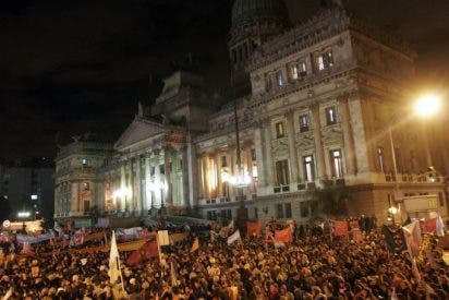 Masiva marcha contra el matrimonio gay en Buenos Aires