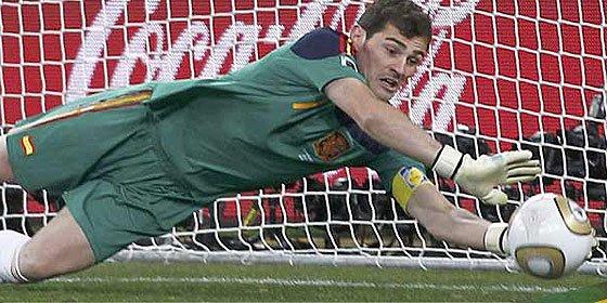 Iker Casillas designado como el mejor portero del Mundial de Sudáfrica
