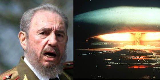 """Fidel Castro: """"En breve estallará una catastrófica guerra nuclear"""""""