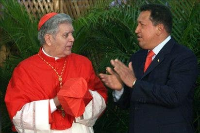 "Chávez llama ""troglodita"" al arzobispo de Caracas e ""indigno"" de ser cardenal"