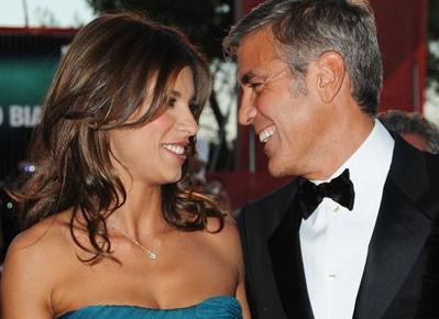 George Clooney y Elisabetta Canalis: boda a la vista