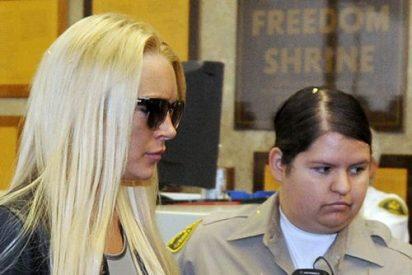 La entrada en prisón de Lindsay Lohan