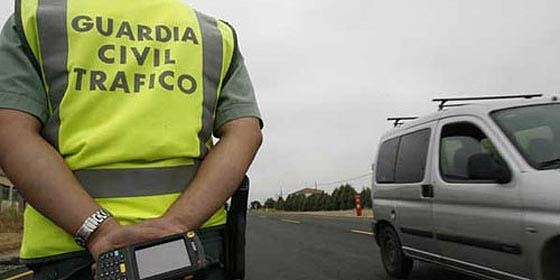 Las multas de la Guardia Civil bajan hasta un 90%