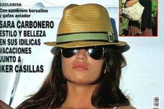 Sara Carbonero, pillada en bikini