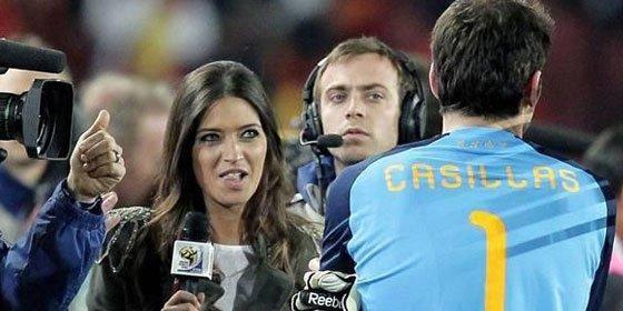 Casillas, el más guapo para Larissa Riquelme