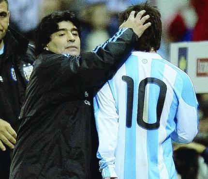 """Maradona: """"Ya está, mi ciclo con la selección argentina terminó"""""""