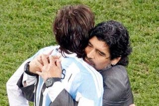 """Alemania tritura al """"chupón"""" de Maradona"""