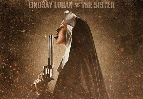 Lindsay Lohan, una monja muy peligrosa