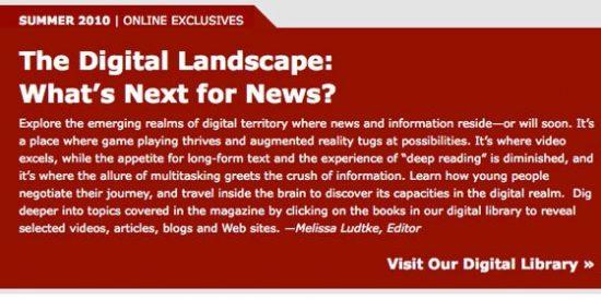 El futuro (digital) de las noticias, que no de los (sin futuro) periodistas