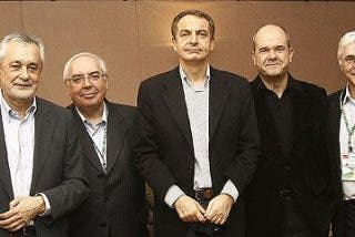 A falta de comida buena es la política andaluza: Griñán has permitido, como Judas, que ZP nos traicione