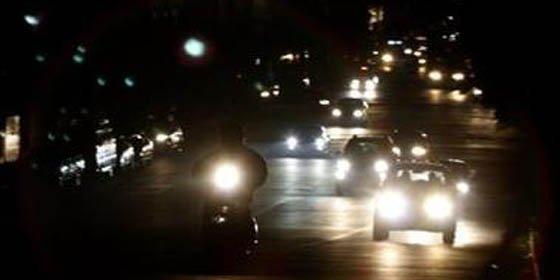 Un muerto y caos circulatorio deja un apagón en parte de Santiago de Chile