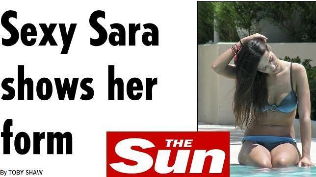 """""""Sexy Sara"""" no tiene fronteras"""