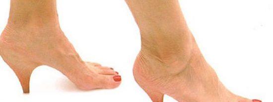 ¿Por qué las mujeres pueden andar sobre tacones altos?