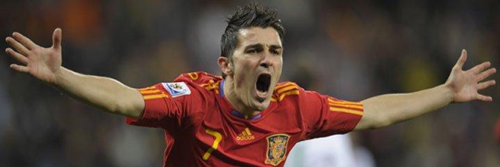 Villa, mejor goleador del mundo en 2010