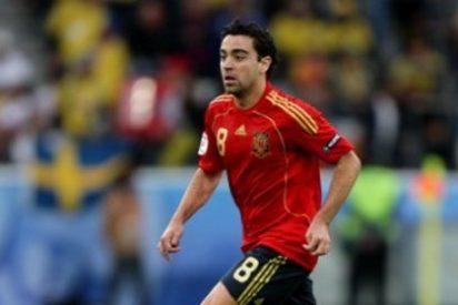 """Xavi: """"Se lo dedicamos a toda España"""""""