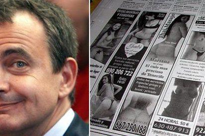 """Zapatero: """"Los anuncios de prostitución deben eliminarse"""""""