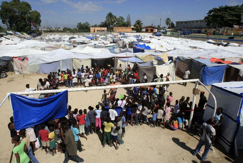 UNICEF indica que aún hay 1,3 millones de desplazados en Haití