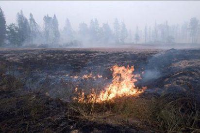 Los incendios forestales arrasan 100.000 hectáreas de bosques en el este de Rusia