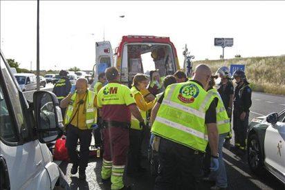 Trece heridos tras ser atropellados por un coche en las inmediaciones del Rastro en Madrid