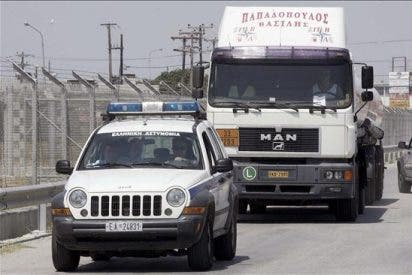 Los camioneros griegos suspenden la huelga emprendida el lunes
