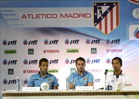 0-3. Atlético de Madrid supera sin problemas a estrellas de liga tailandesa