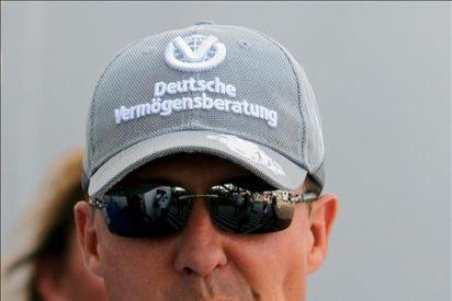 Schumacher, sancionado con la pérdida de diez puestos en la salida de Bélgica