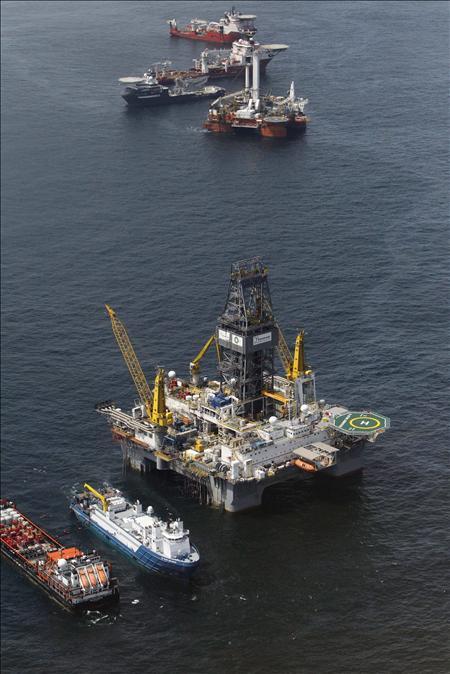 BP podría iniciar el lunes una nueva operación para sellar el pozo averiado