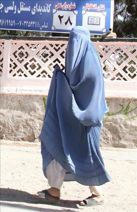 """Nadje Sadig dice que el burka en Irak """"es un fenómeno postinvasión"""""""