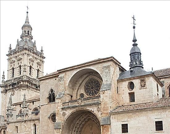 Cae desde 50 metros una campana de la catedral de Burgo de Osma poco antes de una procesión