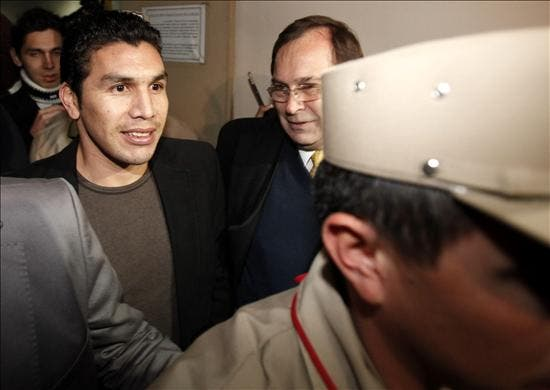Cabañas declara ante la Justicia paraguaya que no recuerda a sus agresores