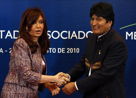 """Morales advierte que la integración """"no debe ser perjudicada"""" por los conflictos"""